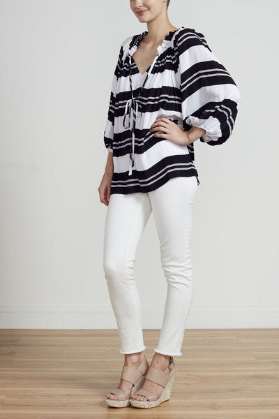 SOPHIA TOP - STRIPE