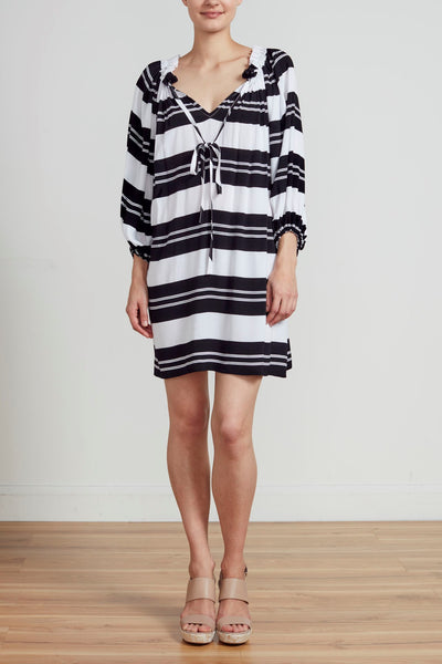 SOPHIA DRESS - STRIPE