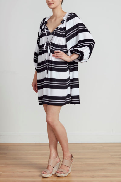 SANTA MONICA BELL SLEEVE DRESS