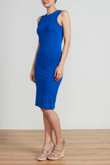 RACER DRESS - ROYAL
