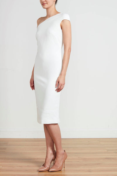 ASYMMETRICAL SHEAF DRESS