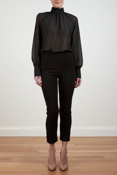 NEW ROMANCE BLOUSE - BLACK