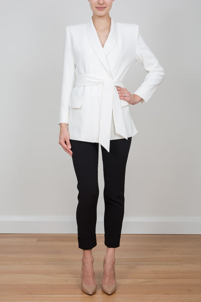 ROYAL WRAP RIDING JACKET - IVORY