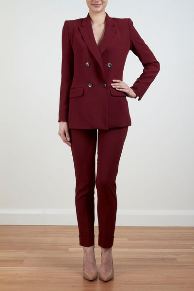 THE DUCHESS OF CAMBRIDGE JACKET - BORDEAUX