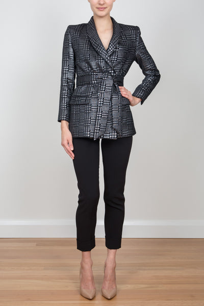 ROYAL WRAP RIDING JACKET - METALLIC