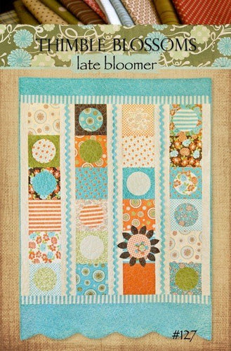 Late Bloomer - PAPER Pattern