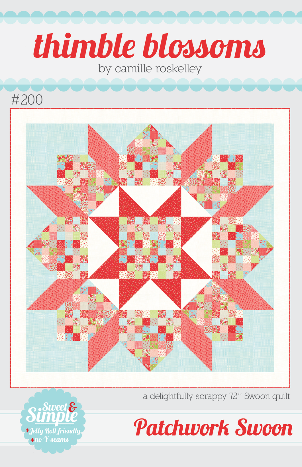 Patchwork Swoon - PDF pattern