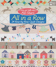 Moda All-Stars All in a Row book