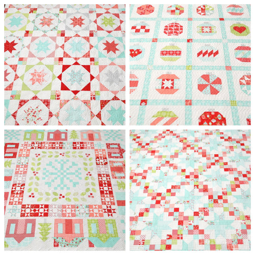 Vintage Holiday Pattern Bundle (PAPER)