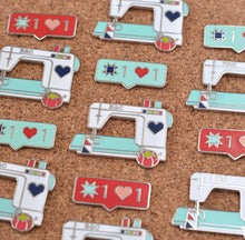 Sewing with B&C/IG Love Enamel Pins