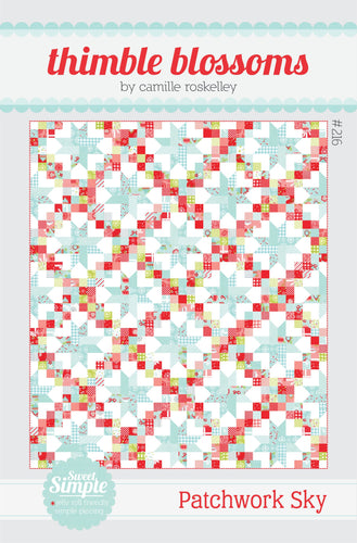Patchwork Sky - PAPER pattern