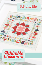 Stitchville - Cross stitch pattern- PDF