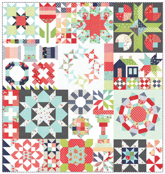 Thimble Blossoms Sampler PDF download