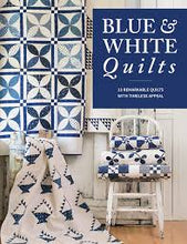 Blue & White book