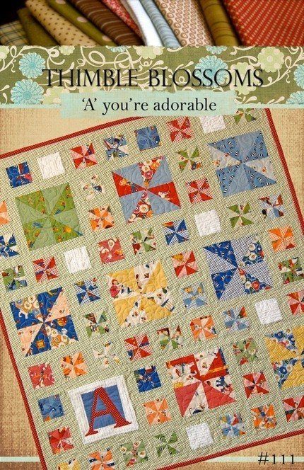 'A' you're adorable - PAPER Pattern