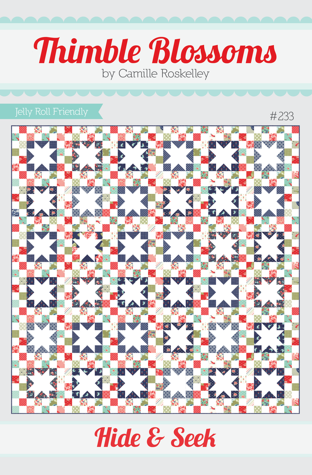 Hide & Seek - PDF pattern – Thimble Blossoms