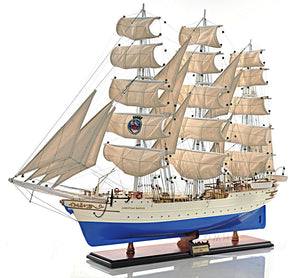 Assembled Christian Radich Wood Model Ship 37""