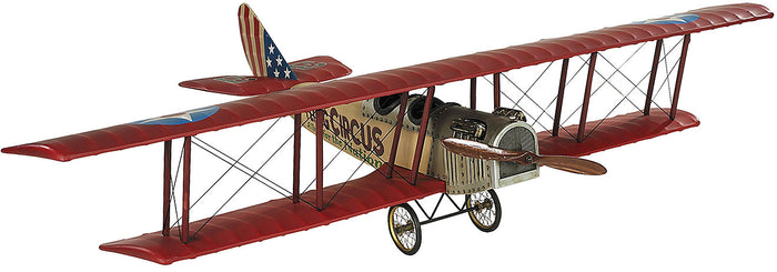 "Hanging Flying Circus Jenny Airplane Model 31"" by Authentic Models"