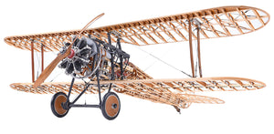 Nieuport 28 Wood Airplane Model Kit by Model Airways