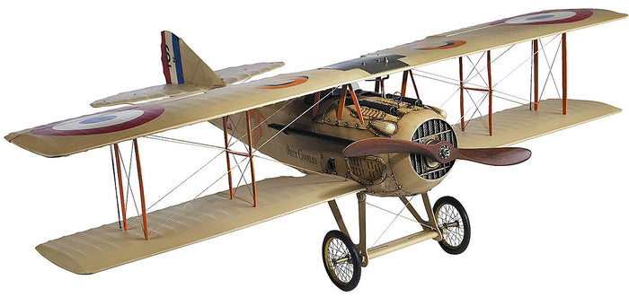Spad XIII (French) Wood Airplane Model (Large) by Authentic Models