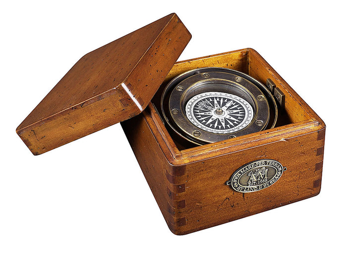Life Boat Compass Replica by Authentic Models
