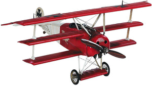 "Desktop Fokker Tri-plane (Red Baron) Airplane Model, 18.5"" by Authentic Models"