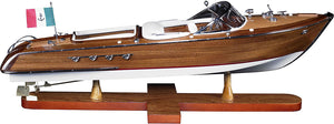 Aquarama Wood Model Boat by Authentic Models