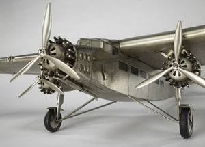 Ford Trimotor Airplane Model - Large by Authentic Models - Assembled