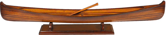 Small Saskatchewan Model Canoe Replica by Authentic Models 39.50 Inches
