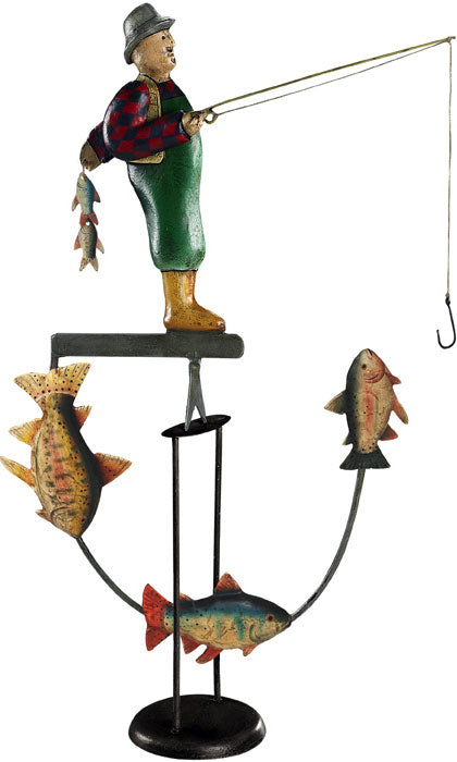 Balance Toy Fly Fisherman by Authentic Models