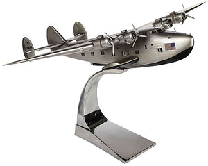 Boeing 314 'Dixie Clipper' Airplane Model with Metal Desk Stand by Authentic Models