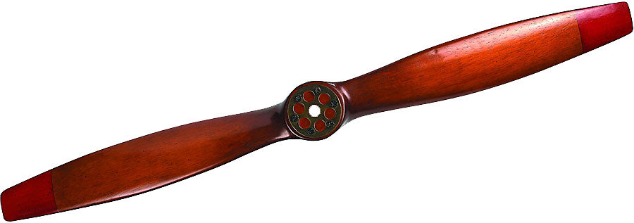 "WWI Vintage Wood Replica Propeller, Small - 47.25"" by Authentic Models"