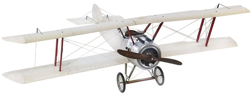 Transparent Sopwith Camel Airplane Model (Large) by Authentic Models