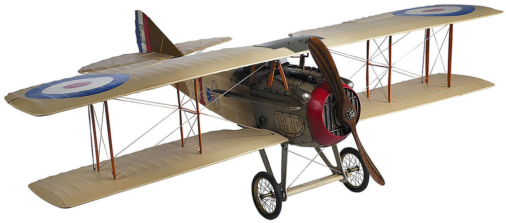 Spad XIII Wood Airplane Model (Large) Assembled  by Authentic Models