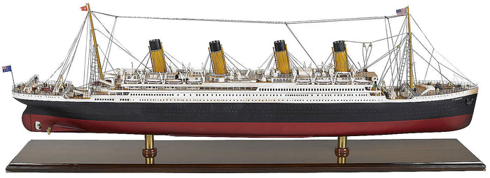 Titanic Wood Display Model 39.5 inches by Authentic Models