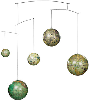 Old World Globe Mobile by Authentic Models