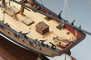 Lady Nelson Wood Model Ship Kit by Amati