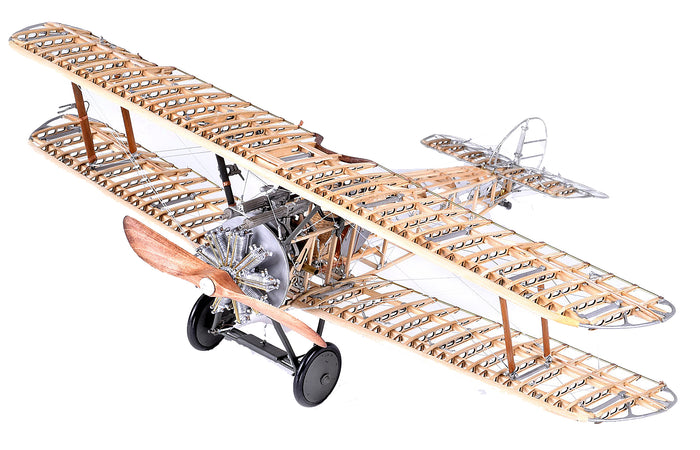 Sopwith Camel F.1 Wood Airplane Model Kit by Model Airways