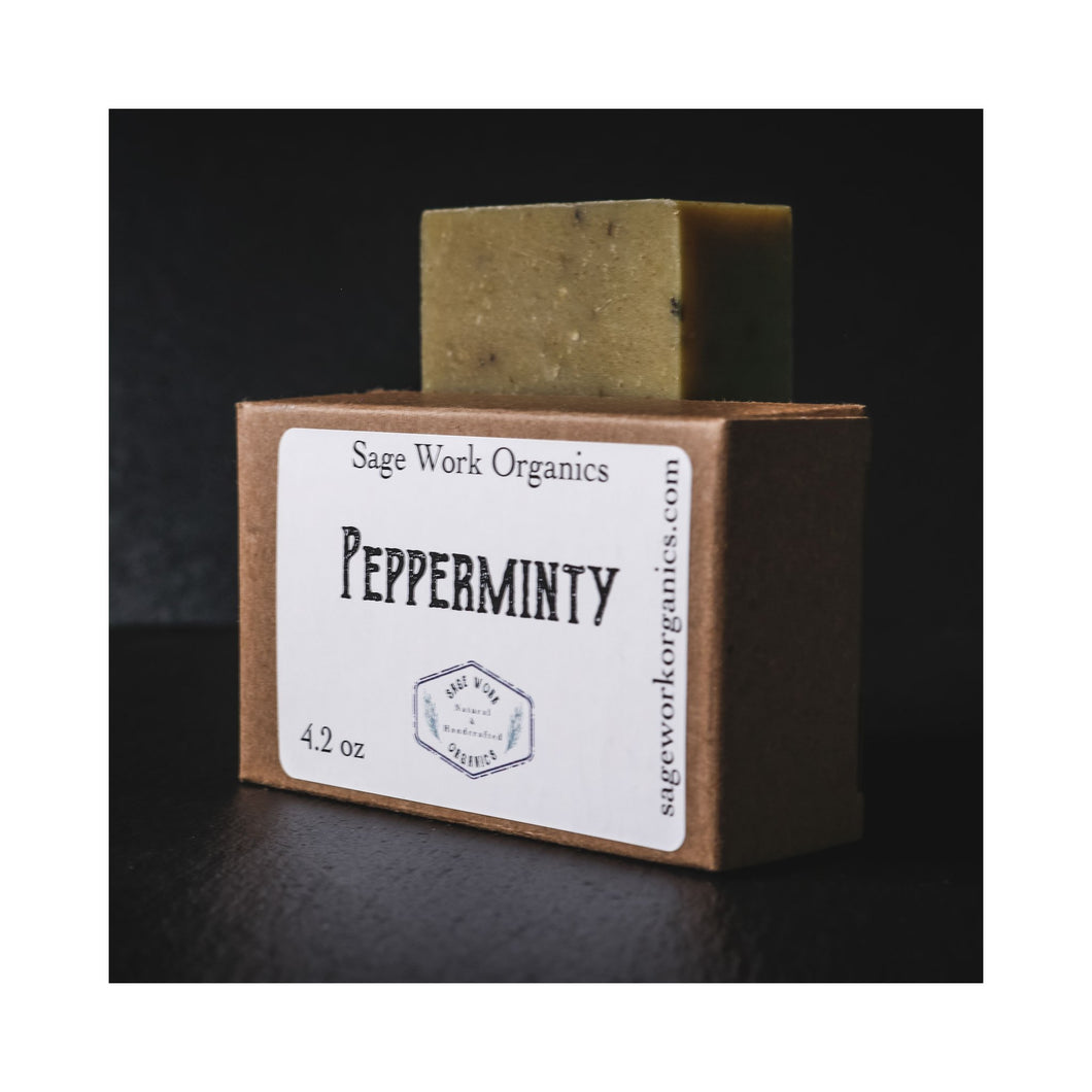 Soap Bar - Pepperminty