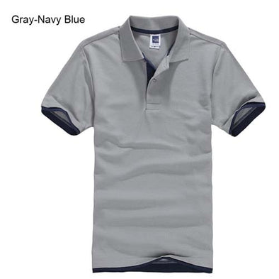 Plus Size XS-3XL Brand New Men's Polo Shirt High Quality Men Cotton Short Sleeve shirt Brands jerseys Summer Mens polo Shirts - Katpurr