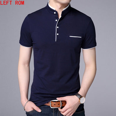 High Quality Men Polo Shirt Mens short Sleeve Solid Polo Shirts Camisa Polos Masculina 2018 Casual cotton Plus size S-3XL Tops - Katpurr