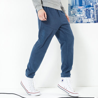 Pioneer camp new winter thick fleece sweatpants men brand clothing letter embroidery warm trousers male quality pants AZZ801373 - Katpurr