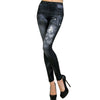 2019 Women New Fashion Classic Stretchy Slim Leggings Sexy imitation Jean Skinny Jeggings Skinny Pants big size bottoms hot sale - Katpurr