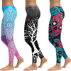 LI-FI Print Yoga Pants Women Unique Fitness Leggings Workout Sports Running Leggings Sexy Push Up Gym Wear Elastic Slim Pants - Katpurr