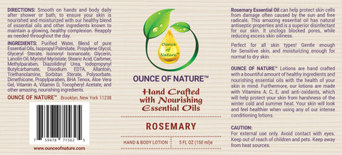 Rosemary Lotion
