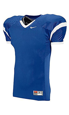 Nike Youth Open Field Football Jersey Royal/White 695727-494