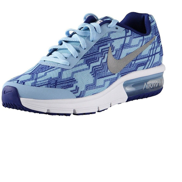Nike Girl's Air Max Sequent Print (GS) Running Shoe