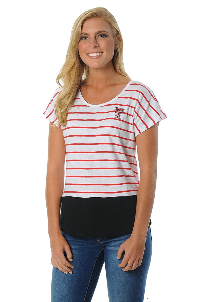 NCAA Women's Striped Dolman Top