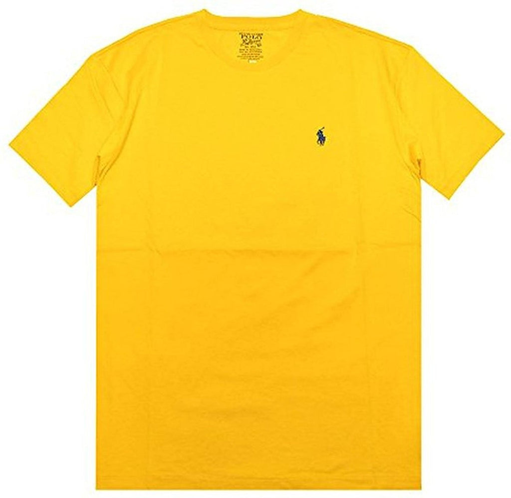 Polo Ralph Lauren Men's Classic Fit Solid Crewneck T-Shirt