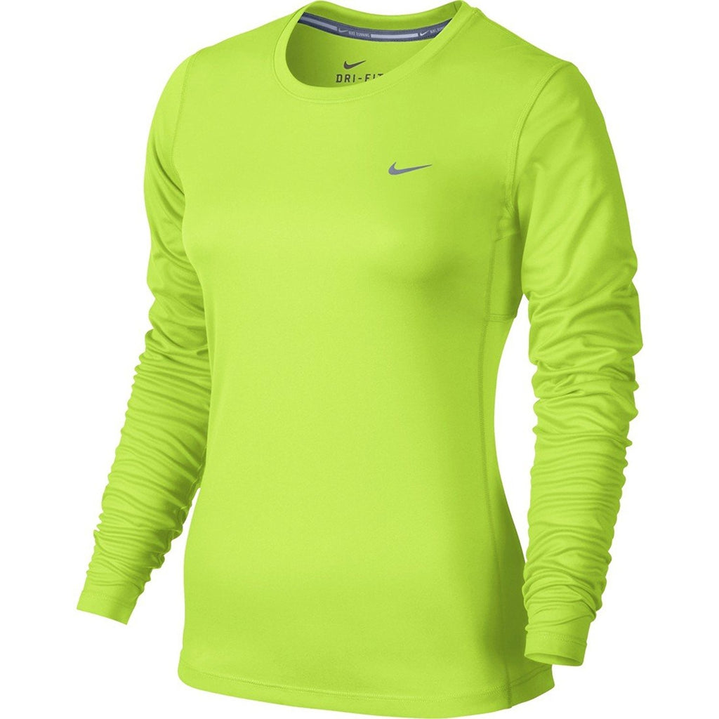 Nike Women's Dri-Fit Miler Long Sleeve Running Top